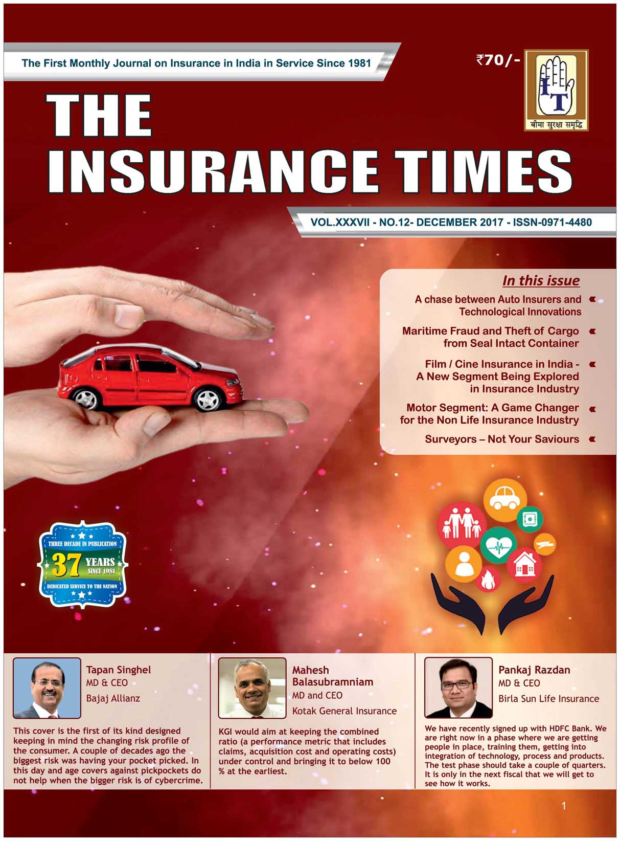 The Insurance Times December 2017