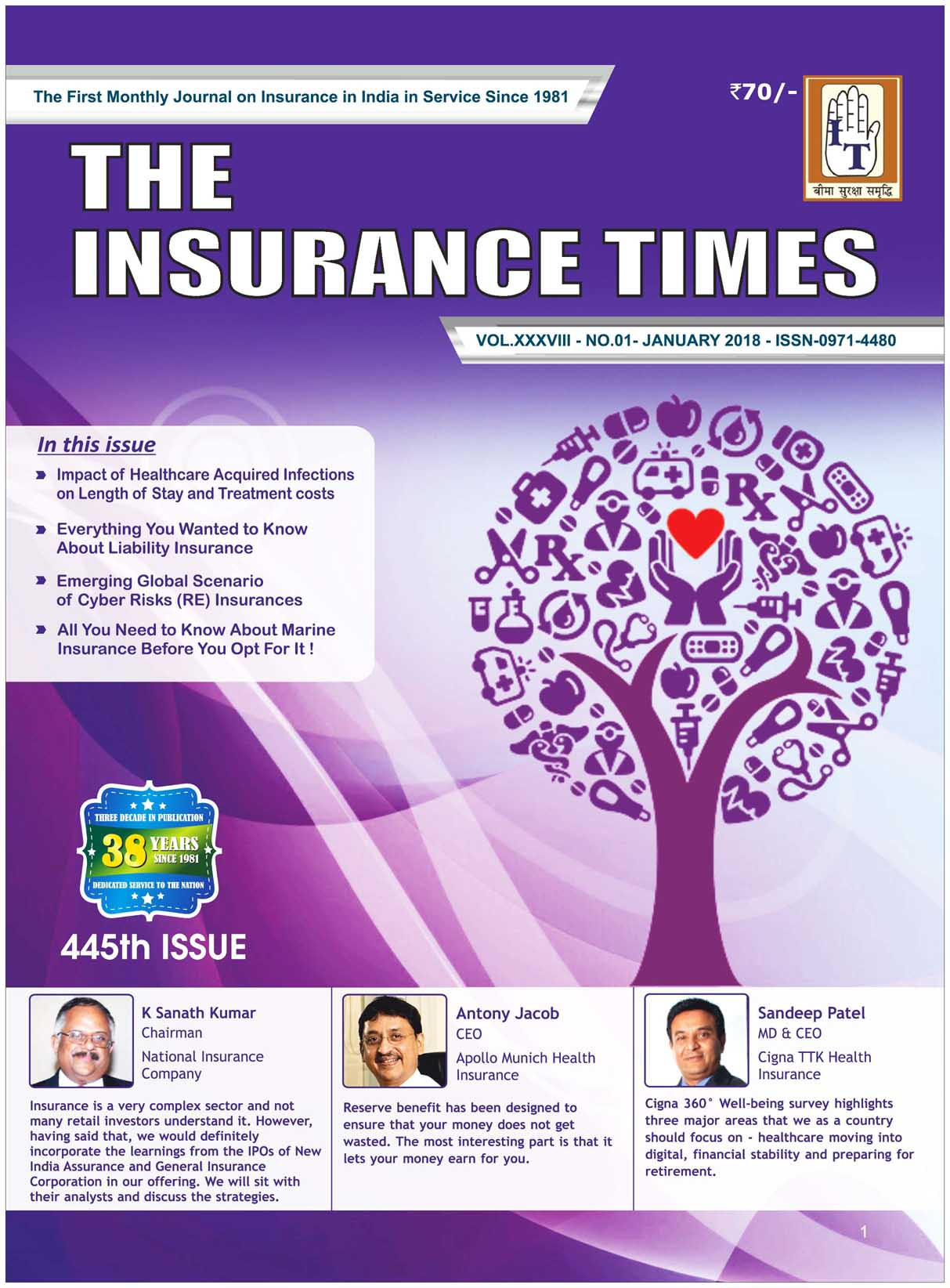 The Insurance Times January 2018
