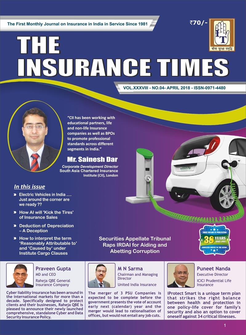 The Insurance Times April 2018