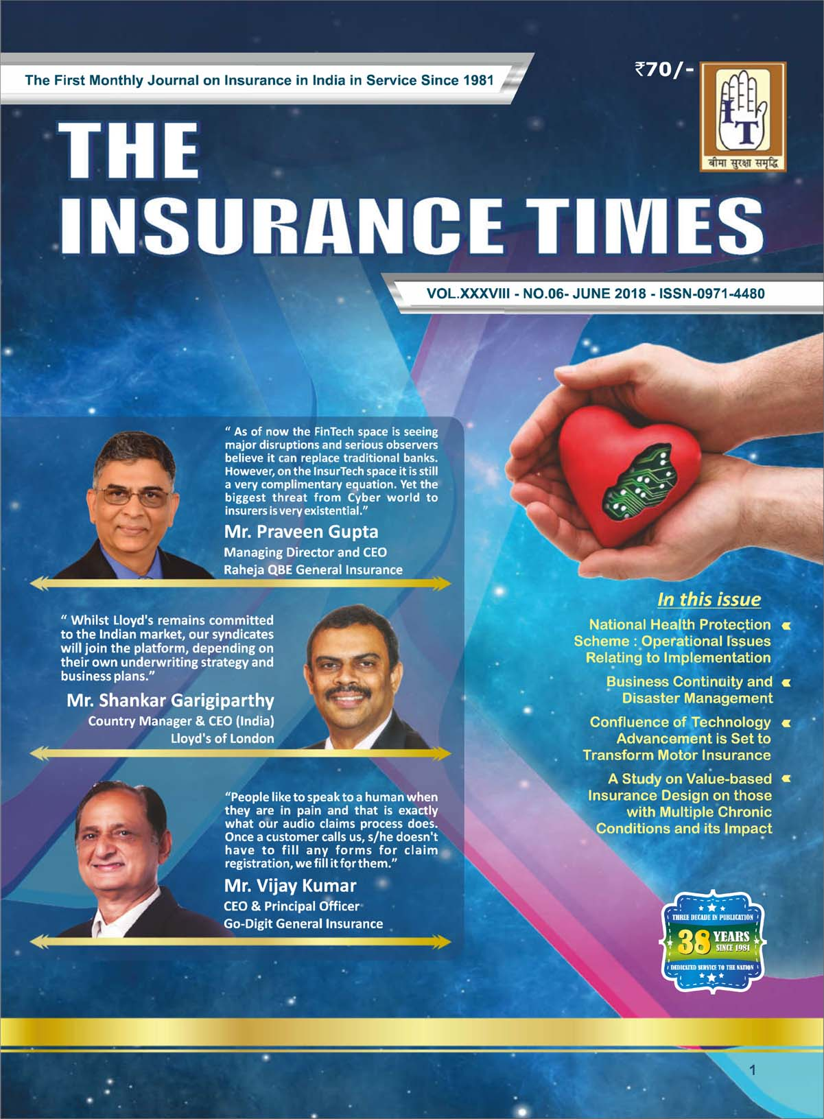 The Insurance Times June 2018