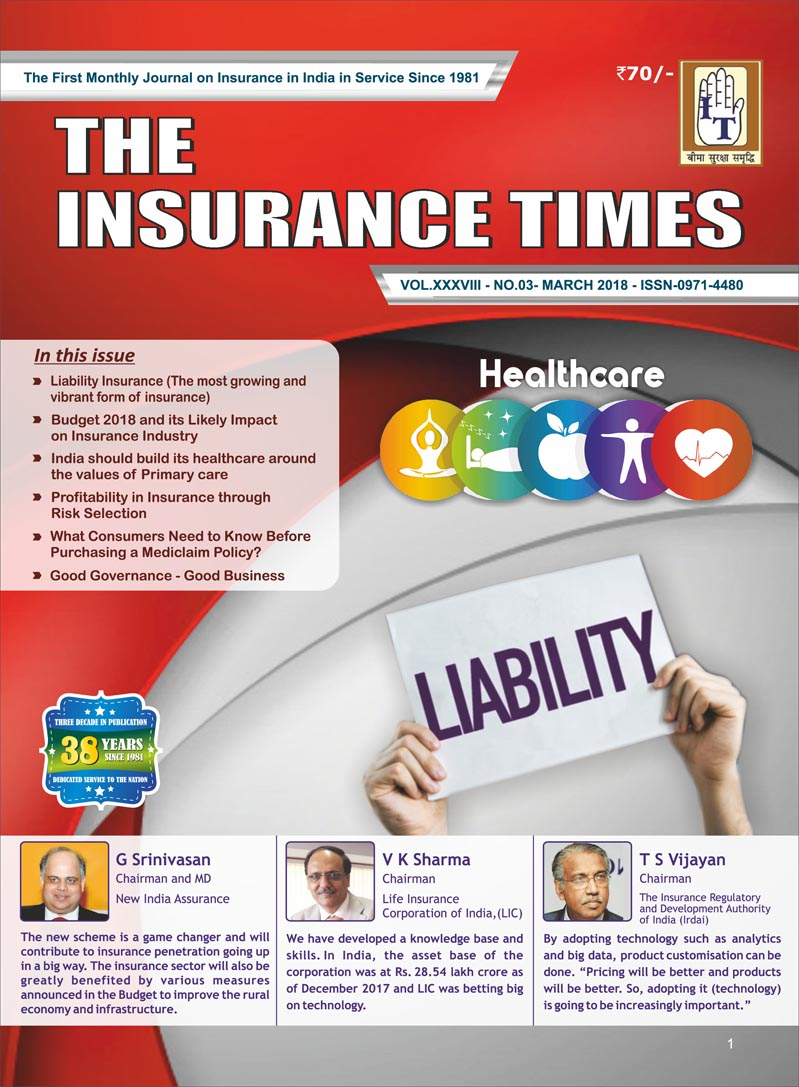 The Insurance Times March 2018