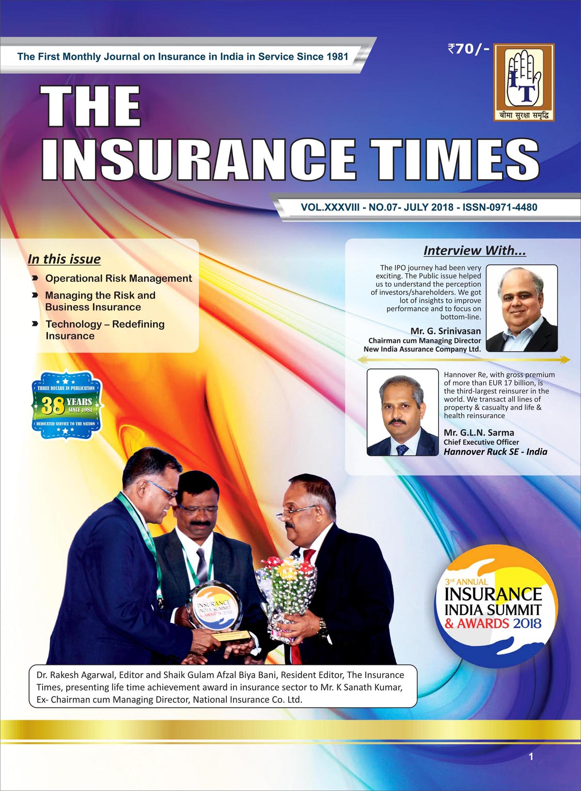 The Insurance Times July 2018