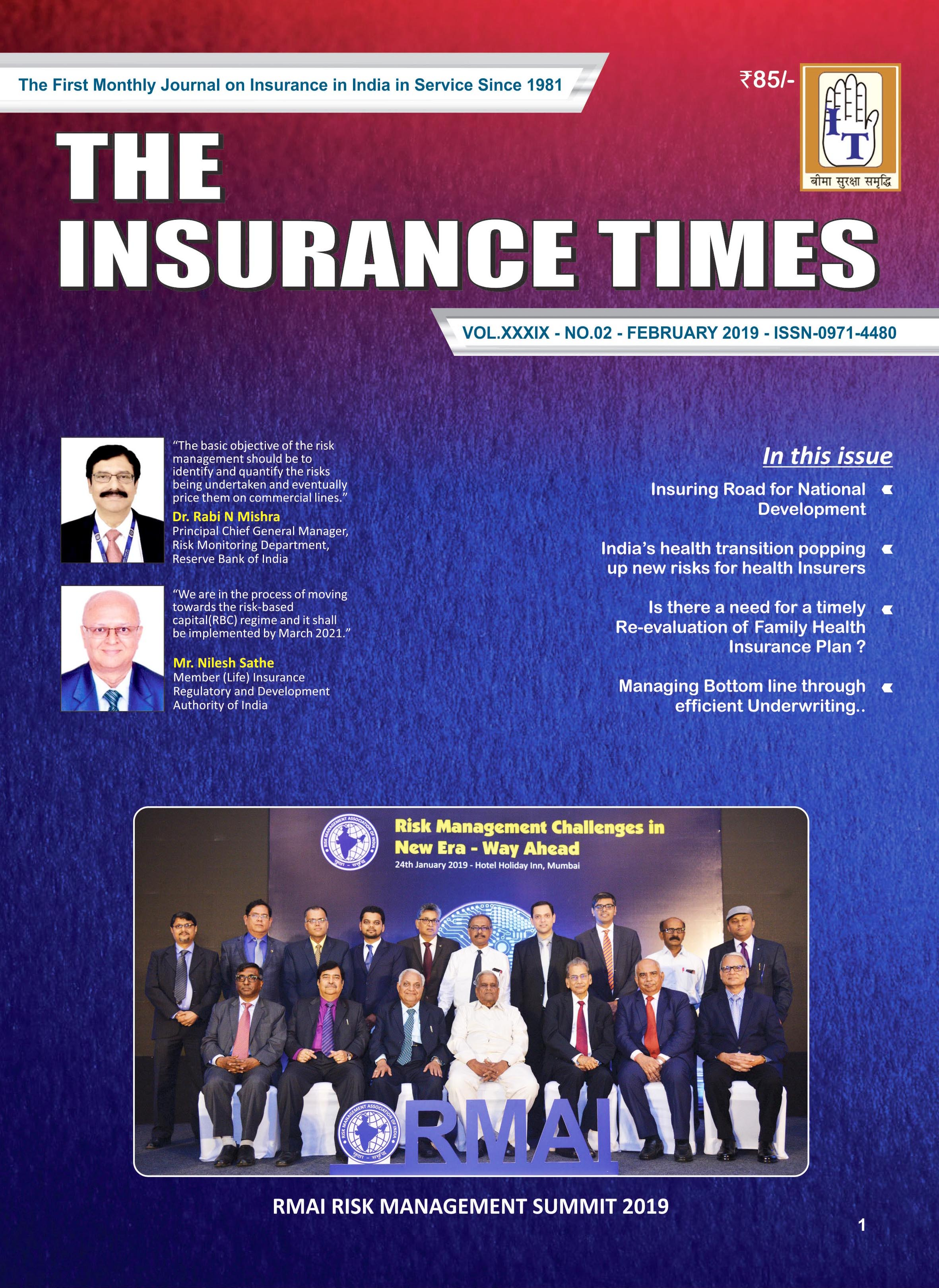 The Insurance Times February 2018